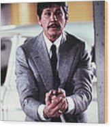 Charles Bronson In Murphy's Law  Wood Print by Silver Screen