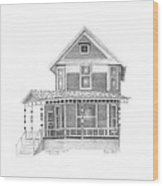 Charles Nash House Wood Print