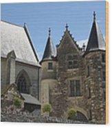 Chateau D'angers  Wood Print
