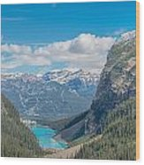 Chateau Lake Louise - Banff National Park - Canada Wood Print