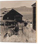 Cherry Creek   Nevada Wood Print