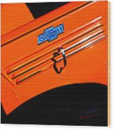 Chevrolet Hood Wood Print