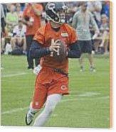 Chicago Bears Qb David Foles Training Camp 2014 05 Wood Print