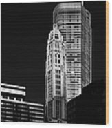 Chicago - Trump International Hotel And Tower Wood Print
