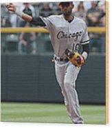 Chicago White Sox V Colorado Rockies Wood Print
