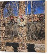 Chimayo Cross Wood Print