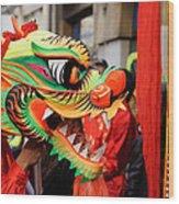 Chinese New Year Wood Print