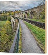 Chirk Aqueduct Wood Print