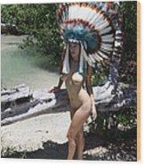 Chokoskee Island Fl. Indian 044 Wood Print