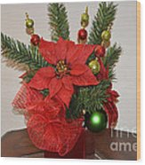 Christmas Centerpiece Wood Print