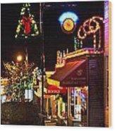 Christmas In Ladysmith Wood Print