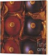 Christmas Ornaments In Box Wood Print