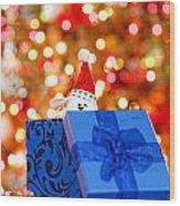 Christmas Time Wood Print