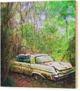 Chrysler Imperial Wood Print