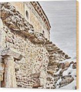 Church Detail Wood Print by Gabriela Insuratelu