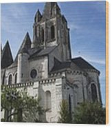 Church - Loches - France Wood Print
