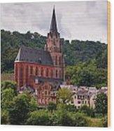Church Of Our Lady  Oberwesel Am Rhein Wood Print