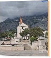 Church Of St.mark Makarska Wood Print