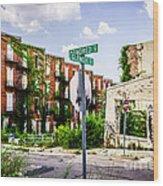Cincinnati Glencoe-auburn Place Picture Wood Print