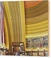 Cincinnati Museum Center At Union Terminal 0018 Wood Print