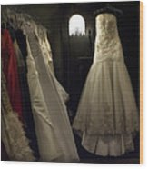Cinderella's Closet Wood Print by Hazel Billingsley
