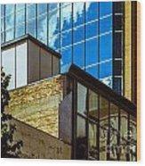 City Center-18 Wood Print