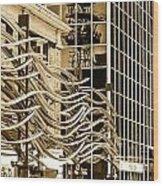 City Center -27 Wood Print