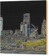 City Of London Art Wood Print