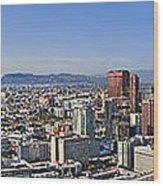 City Of Los Angeles Wood Print