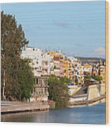 City Of Seville In Spain Wood Print