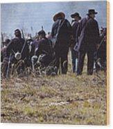 Civil War Wood Print
