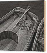 Clark Kent Wood Print