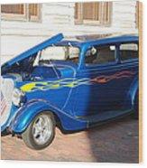 Classic Custom Car Wood Print