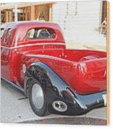 Classic Custom Pickup Truck Wood Print