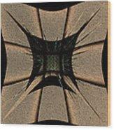 The Golden Craft Wood Print