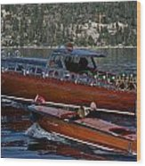 Classic Tahoe Runabouts Wood Print