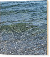 Clear Waters 3 Wood Print