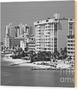 Clearwater Beach Florida Wood Print