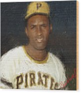 Clemente Wood Print