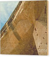 Cliff Palace Tower Wood Print