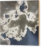 Cloud Photograph  Wood Print