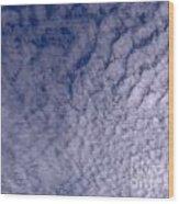 Lots Of Clouds Wood Print