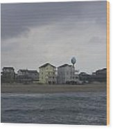 Clouds Over Rodanthe 3 Wood Print
