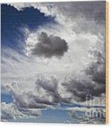 Cloudscape 1 Wood Print