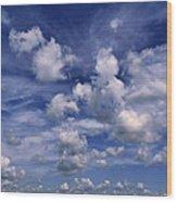 Cloudscape 4 Wood Print
