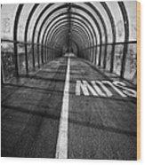 Clydeside Walkway Wood Print