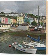 Cobh Town In Ireland Wood Print