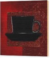 Coffee Passion Wood Print