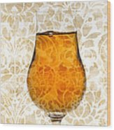 Cognac Wood Print
