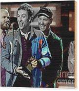 Coldplay Wood Print